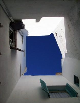 e luces en Asilah (Marruecos)