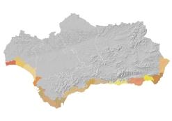 Áreas paisajísticas del litoral andaluz